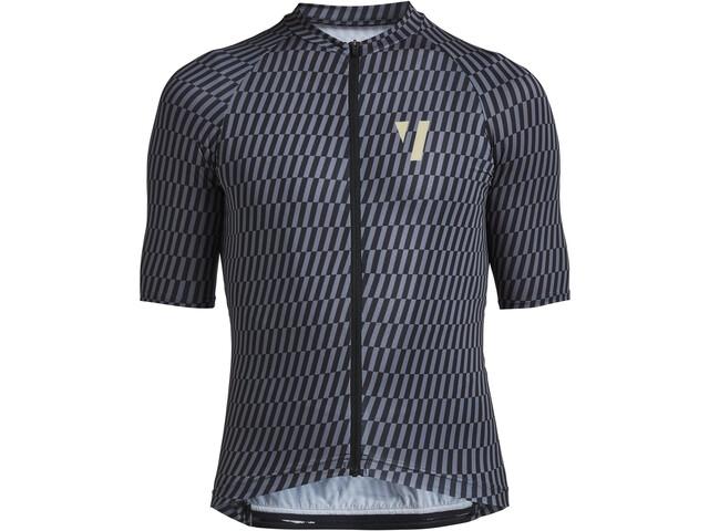 VOID Print 2.0 Maglietta a maniche corte Uomo, black streck